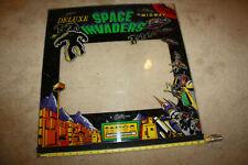 Vintage Original Deluxe Space Invaders Arcade Bezel Plexi - C709