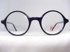 Round Vintage Style Eyeglasses Black Eyeglass Frame