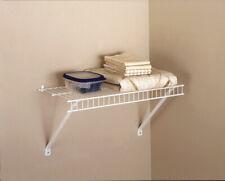Rubbermaid  24 in. H x 12 in. W x 24 in. L Linen Shelf Kit  1 pk Steel
