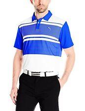 PUMA Golf NA Puma Mens Short Sleeve Pattern Block PC Polo- Pick SZ/Color.