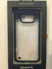 Granite Mono Series Hybrid Slim Case Cover Samsung Galaxy S8+ Plus - Clear/Blue