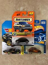 LOT of 3: VW Hot Wheels and Matchbox  VW VOLKSWAGEN KAFER, Concept and BEETLE