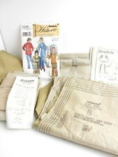 Simplicity #5448 HISTORIC Kids Native American Pattern with Precut Fabric 3 - 8