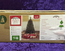 Holiday Time 4' Pre-Lit Black Tree Clear Lights Halloween