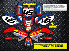 2003 - 2012 HONDA CR 85 DIRT BIKE GRAPHICS KIT CR85 MOTOCROSS MX DECALS