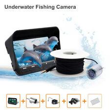 "140° Lens 4.3"" LCD Monitor Camera ISea/Boat Fishing Fish Finder 30M Underwater"