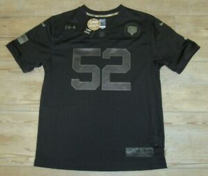 Nike Chicago Bears Khalil Mack #52 On-Field Salute to Service Jersey Youth XL