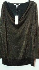 NEW LONG SLEEVE SPARKLE TOP BLOUSE SHIRT SWEATER 2X 22-24 NWT PLUS SIZE $98