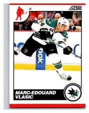 (HCW) 2010-11 Score Glossy #404 Marc-Edouard Vlasic Sharks Mint