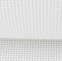 "59"" X 1 Yard 11 count white Cotton Aida Cloth Cross Stitch Fabric"