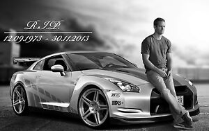 Paul Walker The Fast And The Furious Movie Star PW08 BUY 2 GET 1 FREE