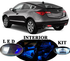 LED Package - Interior + License Plate + Vanity for Acura ZDX (14 pieces)