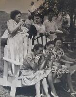 Vintage Photo 1947 Manville New Jersey Johns Manville AFL Union Picnic Raunaro