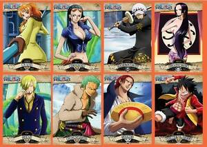 (Malaysia Ready Stock) (1 set 9 pieces) one piece POSTER Luffy Wallpaper 29x42cm