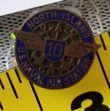 NORTH ISLAND US NAVAL AIR STATION WING 10 Year Service Pin Back