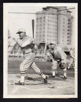 RAJAHH!! Giants Legends ROGERS HORNSBY & ROGER BRESNAHAN Original Press Photo