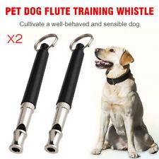 2x per Fischietto da addestramento cani UltraSonic Obedience Stop Barking