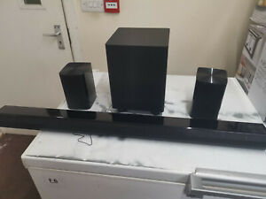 Audial Fusion 5.1 Wireless Surround Sound, Soundbar, 2 Side Speakers & Subwoofer