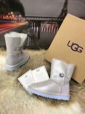 UGG Australia W BAILEY BUTTON BLING METALLIC BOOTS WOMEN`S AUTHENTIC SIZE 8,9 US