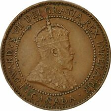 [#492075] Moneta, Canada, Edward VII, Cent, 1910, Royal Canadian Mint, Ottawa