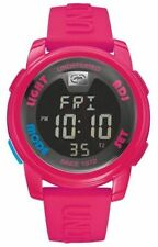 Marc Ecko E07503G8  Unisex Digital Watch  LCD Dial and Pink Silicone