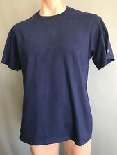 BNWOT Mens Sz Large Champion Brand Navy Blue Stretch Short Slve T Shirt Tee Top
