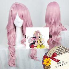 ICHU kokoro hanabusa Cherry Pink Cosplay Halloween Party Hair Wig