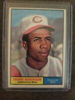 1961 Topps Frank Robinson Cincinnati Reds #360 Baseball Card