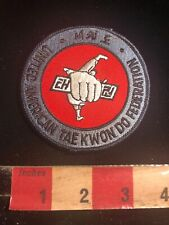 United American Tae Kwon Do Federation Martial Arts Patch 01Rn