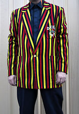 Rare Vintage VIVIENNE WESTWOOD Men's Striped Deep Sky Blazer Sz 38 Punk Distress