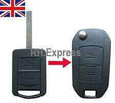 Conversion For Vauxhall Corsa Meriva Combo Opel 2 Button Remote Key Fob Case A14