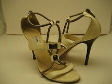 Womens Jimmy Choo gladiator heels made in Italy size 40.5