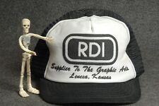 Rdi Graphic Arts Printing Vintage Trucker Hat Baseball Cap Adjustable Snapback