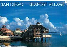 SEAPORT VILLAGE SAN DIEGO CALIFORNIA CA 1994 POSTCARD
