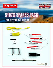 SYMA S107G RC helicopter Replacement Spare Parts -  red or yellow blades