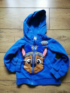 Boys hoodie 2-3 years - Paw Patrol Chase good condition