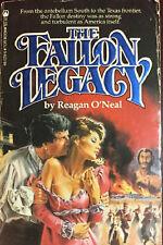 The Fallon Legacy Bk. 3 Reagan O'Neal - First Print (1982, Paperback) FREE SHIP