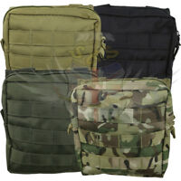 NEW KOMBAT UK TACTICAL MEDIUM MOLLE UTILITY WEBBING POUCH BLACK,GREEN,COYOTE,BTP
