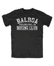 Balboa Boxing Club T-Shirt-Schwarz Stallone, Rocky, Rambo, Kult