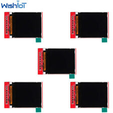5pcs 144inch Tft Color Screen Lcd Display Module St7735s Spi 128128 Rgb 65k