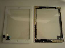 KIT Touch screen touchscreen per Ipad 2 II bianco vetro tasto home+adesivo colla
