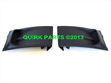 2008-2011 Ford Focus RH & LH Side Lower Front Bumper Cover Set Of 2 OEM NEW