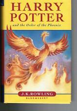 Rowling, HARRY POTTER AND THE ORDER..., Bloomsbury I ed