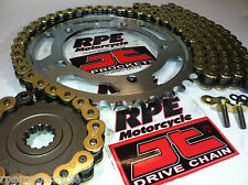 YAMAHA FZ700 FZ750 1985-88 JT 530 GOLD X-Ring CHAIN & SPROCKETS KIT *Japan Steel