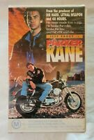 Parker Kane VHS 1990 Action Steve Perry Jeff Fahey Roadshow Video [Ex-Rental]