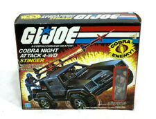 1984 Hasbro GI Joe ARAH Cobra Stinger Jeep Boxed Complete Driver Instructions
