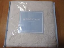 NEW Wedgwood Interlocking Diamonds Quilted 2 Standard Pillow Shams Cases NWT