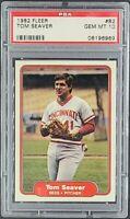 1982 Fleer #82 Tom Seaver HOF Cincinnati Reds PSA 10 Gem Mint