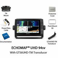 BRAND NEW Garmin ECHOMAP UHD 94sv With GT56UHD-TM Transducer 010-02524-01 NEW