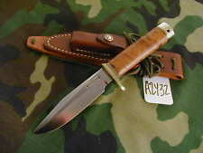 """RANDALL KNIFE KNIVES #5-5"""",TN,BSHSQ,BL.-B.S,THUYA BURL,BB,WT,C STY.SH   #A2432"""
